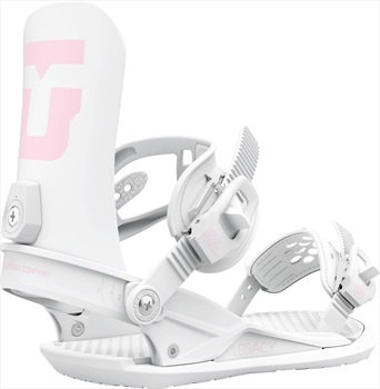 Union Legacy Team Women's Snowboard Binding, M White 2021