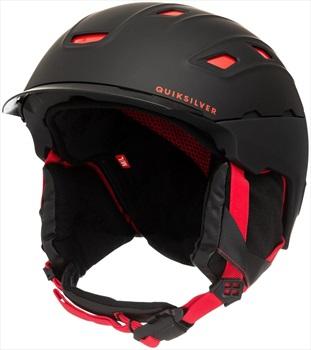 Quiksilver Tremor Snowboard/Ski Helmet, M/L Black