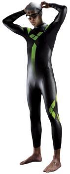 arena Triathlon Performance Swimming Wetsuit, L Black