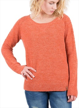 Passenger Maple Knit Sweater Women's Jumper, L Rust