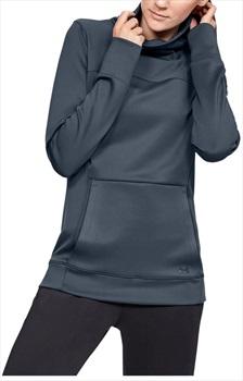 Under Armour ColdGear Armour Women's Hybrid Pullover, S Downpour Grey