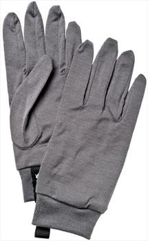 Hestra Merino Wool Ski/Snowboard Liner Gloves, M, Dark Grey