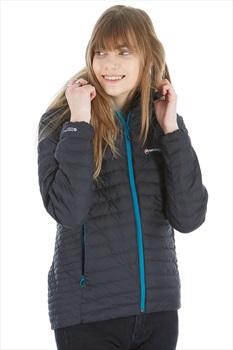 Montane Phoenix Women's Insulated Hooded Jacket, L Black