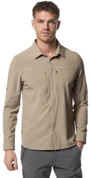 Craghoppers NosiLIfe Pro III Long Sleeve Shirt, S Parchment