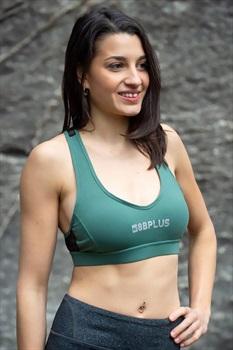 8b+ Womens Rebel Mesh Sports Bra XS Khaki