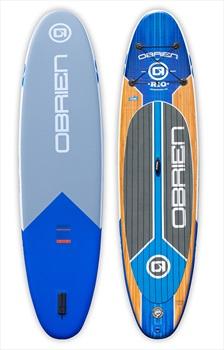 O'Brien Rio ISUP Paddleboard, 11' Blue Brown 2020