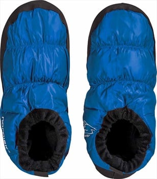 Nordisk Mos Down Shoes Insulated Camping Slippers, UK 9-12 Blue
