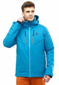 Salomon Stormrace Ski/Snowboard Jacket, M Fjord Blue