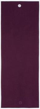 Manduka Yogitoes Yoga/Pilates Mat Towel, Purple
