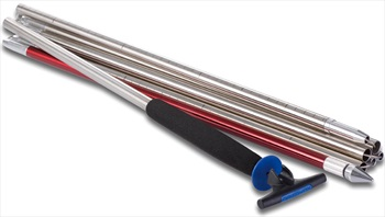 Ortovox 320+ Steel Pro PFA Avalanche Safety Probe, 320cm, Silver