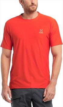 Haglofs L.I.M Tech Tee Quick Drying T-Shirt L Habanero