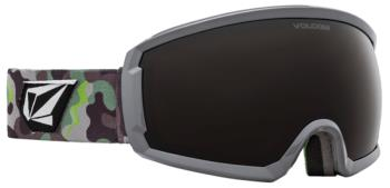 Volcom Migrations Bronze Ski/Snowboard Goggles, S Camo Lime