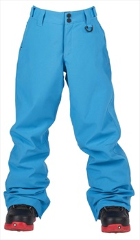 Bonfire Child Unisex Tactical Youth Ski / Snowboard Pants, Xl Cyan