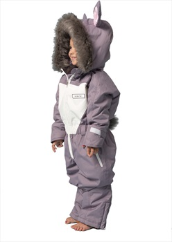 Dinoski Hop Ski Suit Kids' Insulated Snow Onesie 2-3 Years Grey Lilac