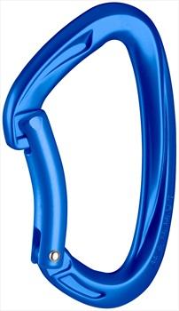 Mammut Crag Key Lock Carabiner, Bent Gate Ultramarine