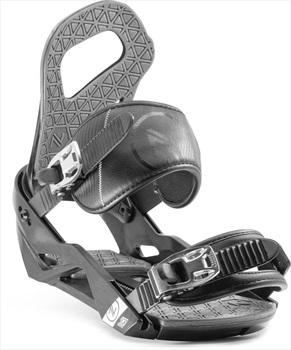 Nidecker Adult Unisex Sky Snowboard Bindings, S/M Black/Grey 2020