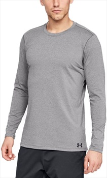 Under Armour ColdGear Fitted Crew, M Charcoal Light Heather