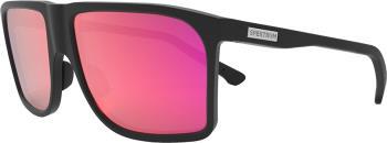 Spektrum Kall Infrared Wayfayer Square Sunglasses, Black