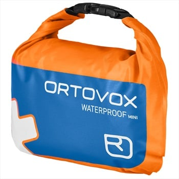 Ortovox First Aid Waterproof Mini First Aid Kit, Shocking Orange