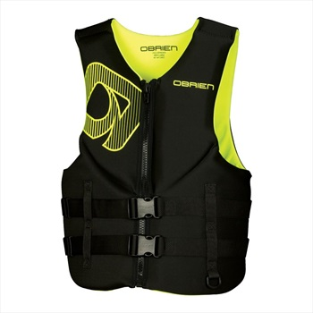 O'Brien Traditional Neo Ski Impact Vest Buoyancy Aid, L Yellow