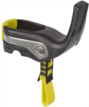 Salewa Ice Axe Handrest Adjustable Hand Rest, Black/Yellow