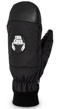 Crab Grab Adult Unisex Slush Snowboard/Ski Mitts, M Black