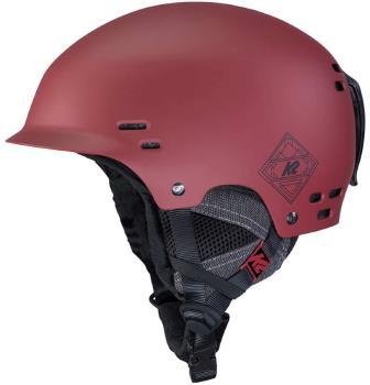 K2 Thrive Snow/Bike Helmet, M Deep Red