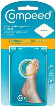 Compeed Medium 5 Bunion Plasters, Clear