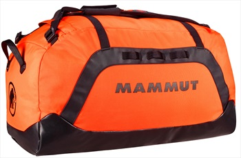 Mammut Cargon Sport Travel Duffel Bag, 60L Safety Orange/Black