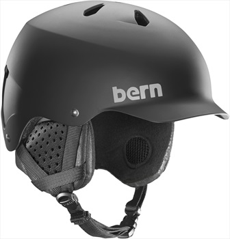 Bern Watts EPS Snow/Bike Helmet, S Matte Black