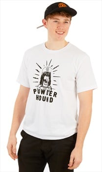 Planks Powder Hound Tee T Shirt, M White