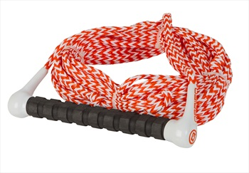 O'Brien Waterski Handle Rope Combo, 1 Section Orang White
