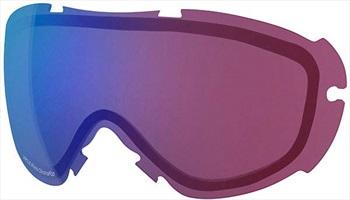 Smith Virtue Snowboard/Ski Goggle Spare Lens, Chromapop Ph Rose Flash