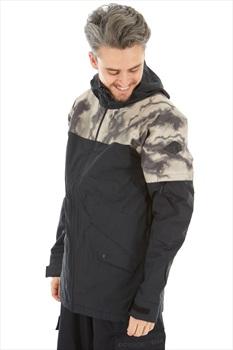 Dakine Denison 2-Layer Insulated Ski/Snowboard Jacket, L Black/Camo