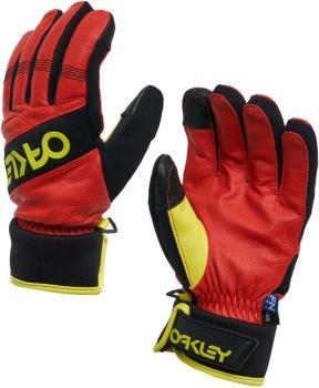 Oakley Factory Winter 2 Ski/Snowboard Gloves, S High Risk Red