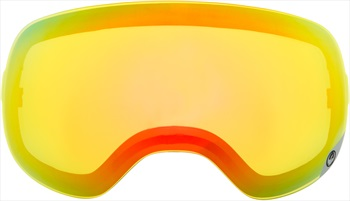 Dragon X1s Snowboard/Ski Goggle Spare Lens, One Size, Yellow Red Ion