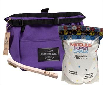 The Bouldering Bundle Climbing Gift Set: Purple