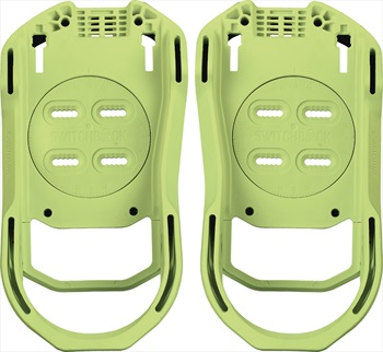 Switchback Base Snowboard Binding Baseplate, M (UK 6-9), Glow