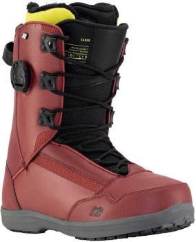 K2 Darko Men's Snowboard Boots, UK 8 Burgundy 2021