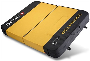 Ocun Paddy Dominator Bouldering Crash Pad 100×132 | 200×66cm Yellow