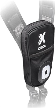 Coxa Carry Front Pocket With Light Accessory Pouch, O/S Black