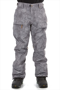 686 Vice Shell Ski/Snowboard Pants, M Charcoal Wash