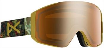 Anon Adult Unisex Clutch Camo, Sonar Bronze Ski/Snowboard Goggles, M