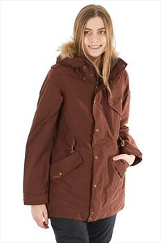 Dakine Brentwood Women's Ski/Snowboard Jacket, S Rust Brown
