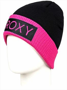 Roxy Varma Women's Snowboard/Ski Beanie, One Size True Black