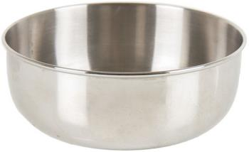 Lifeventure Stainless Steel Camping Bowl Packable Travel Dish