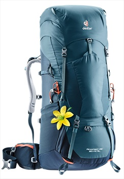 Deuter Aircontact Lite 60 + 10 SL Women's Backpack, 60L Arctic/Navy