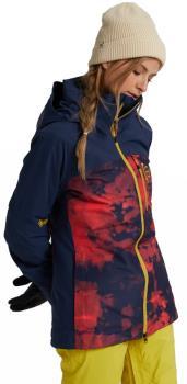 Burton [ak] 2L Embark Womens Gore-Tex Snowboard Jacket S Hibiscus