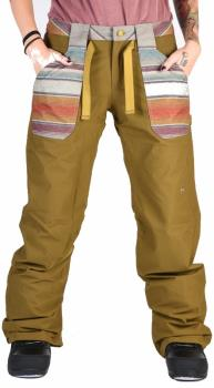 Burton Veazie Pants Women's Ski/Snowboard Trousers, S Hickory