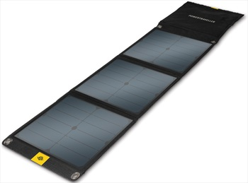 PowerTraveller Falcon 40 Portable Multi Voltage Solar Panel, Black